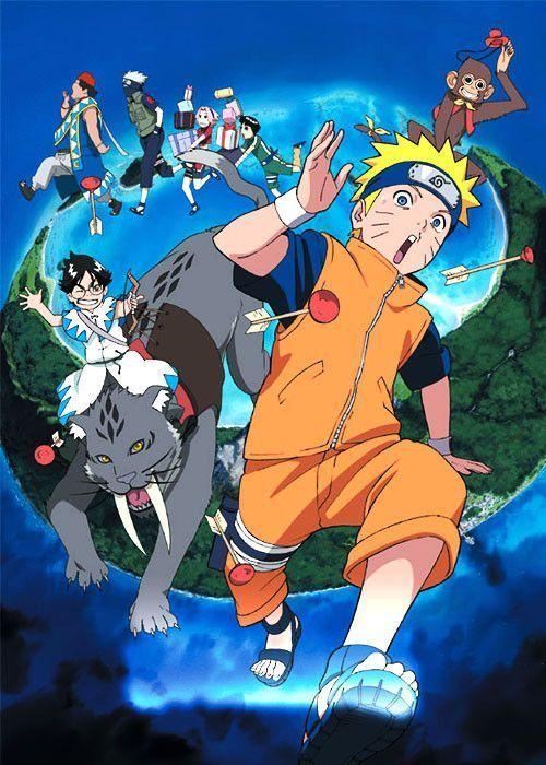 Naruto Le Film 3 - Mission spéciale au pays de la Lune affiche