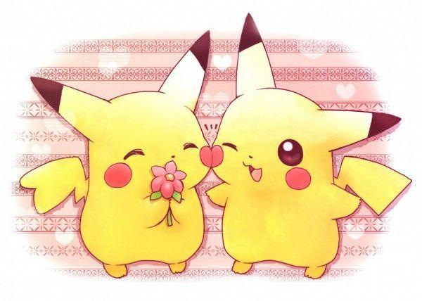 Des Pikachu Amoureux